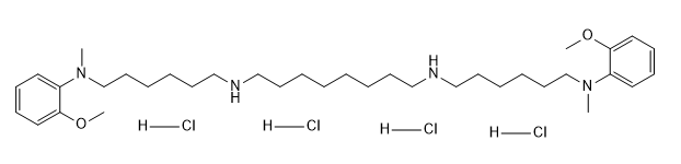 Methoctramine tetrahydrochloride Chemical Structure