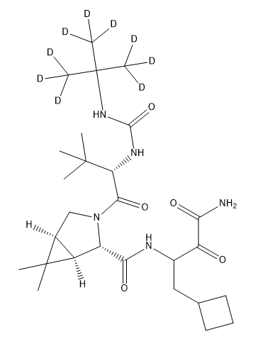 Boceprevir D9 Chemical Structure