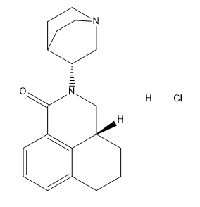 (R,R)-Palonosetron Hydrochloride Chemical Structure