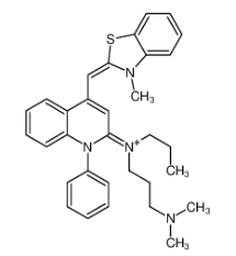 SYBR Green I Chemical Structure