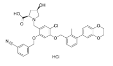 BMS-1166 hydrochloride Chemical Structure