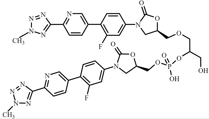 Tedizolid Impurity 36 Chemical Structure