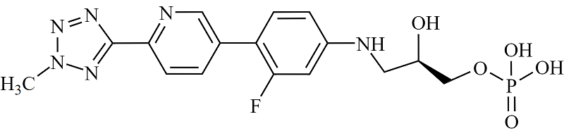 Tedizolid Impurity 34 Chemical Structure