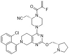 MRTX849 Chemical Structure