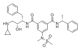 beta-Secretase Inhibitor IV Chemical Structure