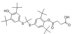 Succinobucol Chemical Structure
