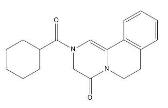 Praziquantel EP Impurity B Chemical Structure