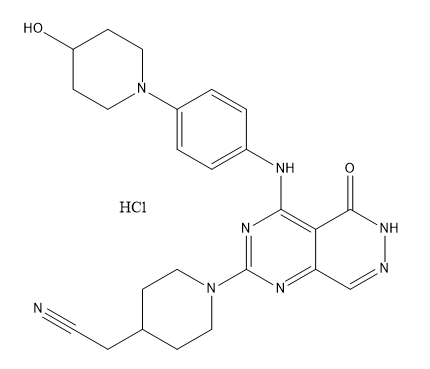 Gusacitinib HCl Chemical Structure