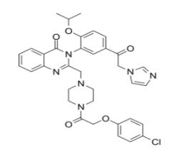 Imidazole ketone erastin Chemical Structure
