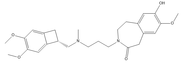 O-Desmethyl Ivabradine Chemical Structure