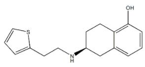 Depropyl Rotigotine Chemical Structure