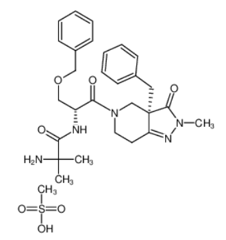 Capromorelin methanesulfonate Chemical Structure