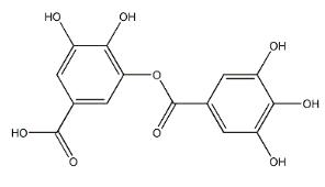 Digallic acid Chemical Structure