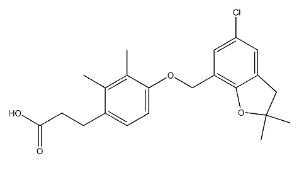 GPR120 Agonist 2 Chemical Structure