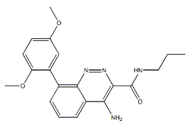AZD6280 Chemical Structure