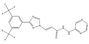 Selinexor E-isomer Chemical Structure
