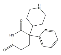 Norbenzetimide Chemical Structure