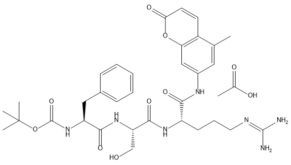 Tryptase Chemical Structure