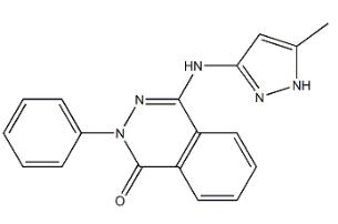 Phthalazinone pyrazole Chemical Structure
