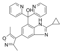 Alobresib Chemical Structure