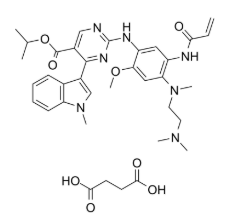 Mobocertinib succinate Chemical Structure