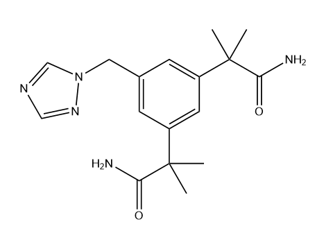 Anastrozole Impurity 5 Chemical Structure