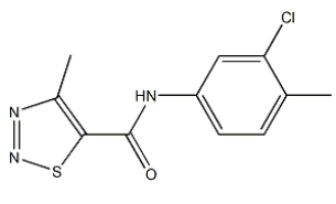 Tiadinil Chemical Structure