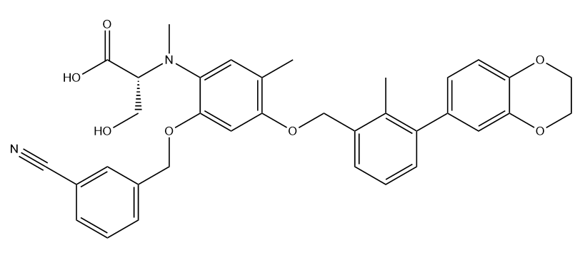 BMS-1001 Chemical Structure