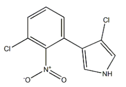Pyrrolnitrin Chemical Structure