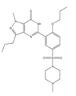 Propoxyphenyl Sildenafil Chemical Structure