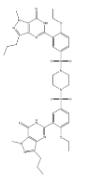 Sildenafil Dimer Impurity Chemical Structure