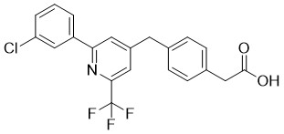 Zatolmilast Chemical Structure