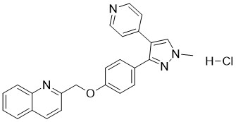 Mardepodect hydrochloride Chemical Structure