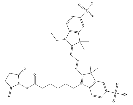 CY3-NHS ester Chemical Structure