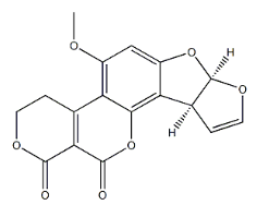 Aflatoxin G1 Chemical Structure
