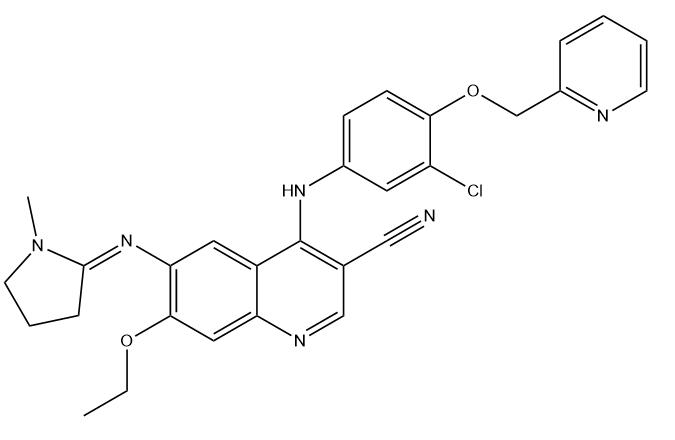 Neratinib Impurity PRQ Chemical Structure