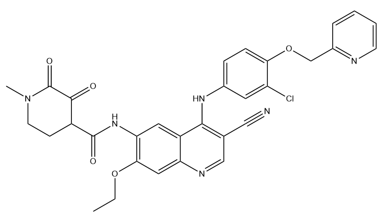 Neratinib Impurity OPCQ Chemical Structure
