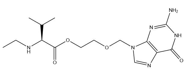 Valacyclovir Related Compound D Chemical Structure