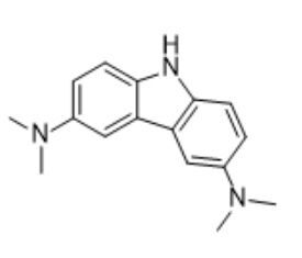 3,6-bis(dimethylamino)-9H-carbazole Chemical Structure