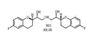 Nebivolol Impurity I HCl (RR,SR) Chemical Structure