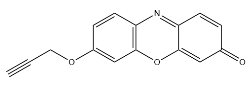 3H-Phenoxazin-3-one,7-(2-proryn-1-yloxy)- Chemical Structure