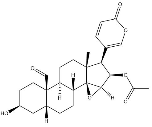 19-Oxocinobufagin Chemical Structure