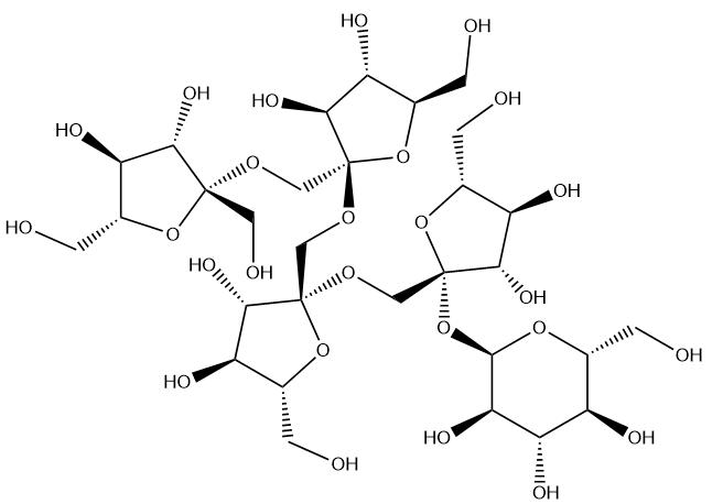 1F-Fructofuranosylnystose Chemical Structure