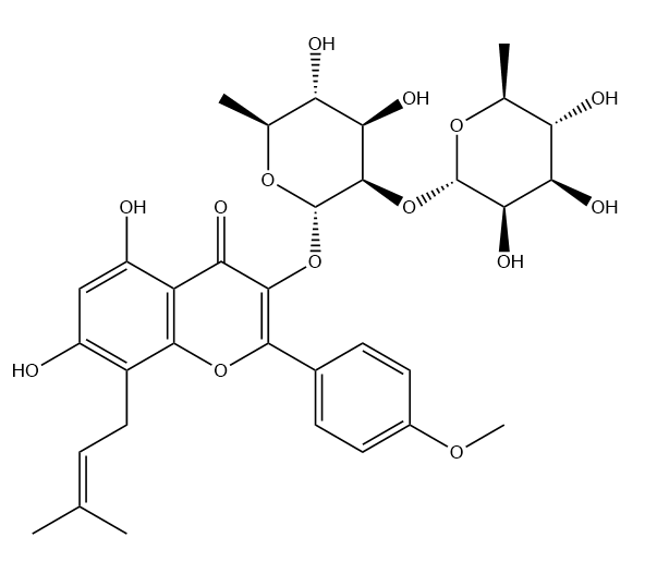 2''-O-Rhamnosylicariside II Chemical Structure