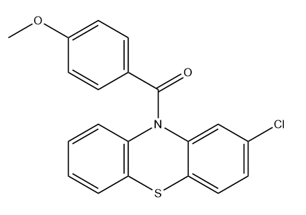 Tubulin inhibitor 6 Chemical Structure