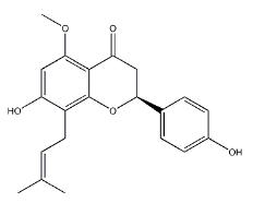 Isoxanthohumol Chemical Structure