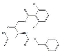 Z-Asp-CH2-DCB Chemical Structure