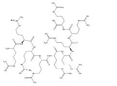 Nona-arginine Chemical Structure