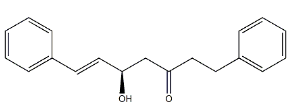 5-Hydroxy-1,7-diphenyl-6-hepten-3-one Chemical Structure