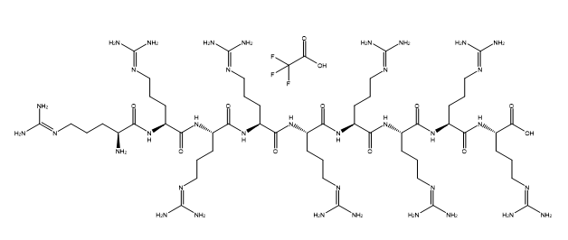 (Arg)9 TFA Chemical Structure